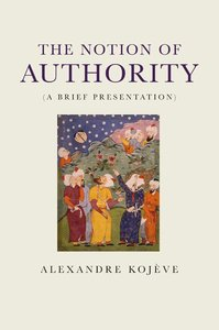 The Notion of Authority