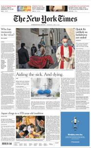 International New York Times - 15 April 2020