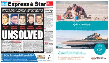 Express and Star Sandwell Edition – August 26, 2019