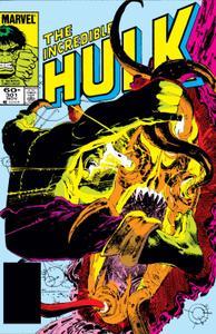Incredible Hulk 301 1984