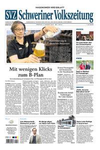 Schweriner Volkszeitung Hagenower Kreisblatt - 02. August 2019