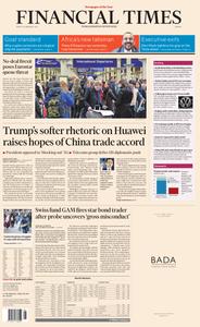 Financial Times Europe – 22 February 2019