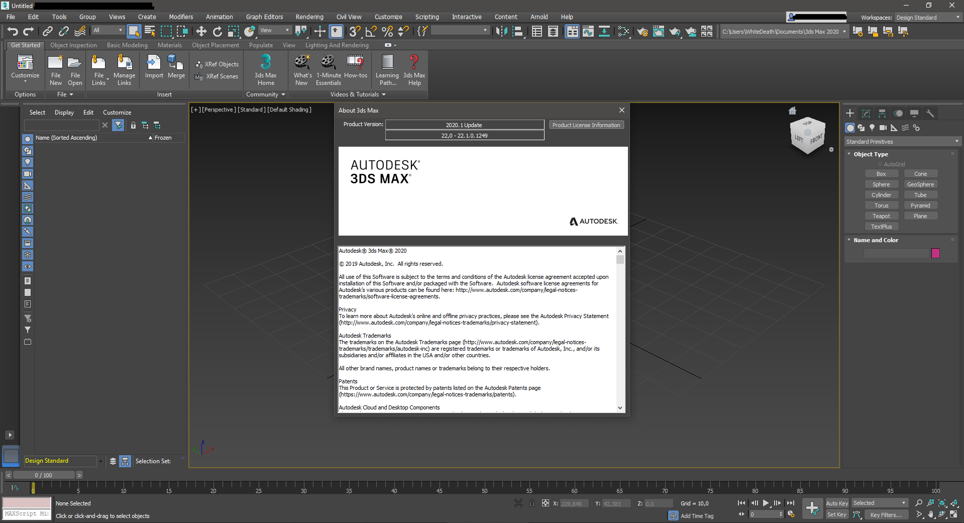 Autodesk 3ds Max 2020.1 Update Only