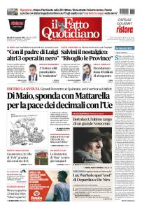 Il Fatto Quotidiano - 27 novembre 2018