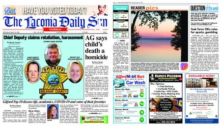 The Laconia Daily Sun – May 28, 2020