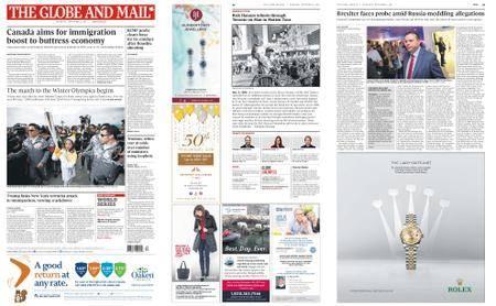 The Globe and Mail – November 02, 2017