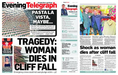 Evening Telegraph First Edition – January 11, 2019