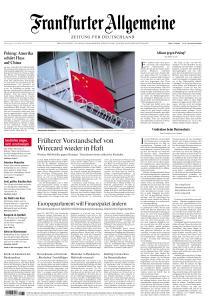 Frankfurter Allgemeine Zeitung - 23 Juli 2020