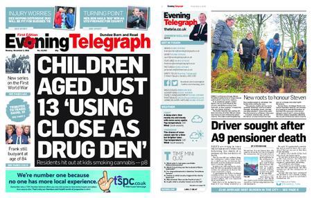 Evening Telegraph First Edition – November 05, 2018