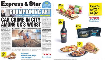 Express and Star City Edition – February 06, 2020