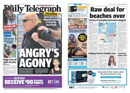 The Daily Telegraph (Sydney) – November 05, 2018