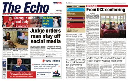 Evening Echo – April 18, 2020