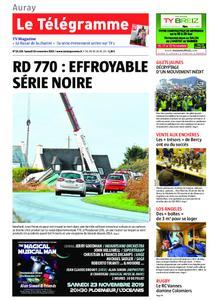 Le Télégramme Auray – 16 novembre 2019