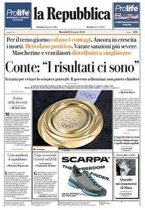 la Repubblica - 25 Marzo 2020