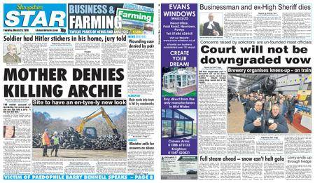 Shropshire Star Shrewsbury Edition – March 20, 2018