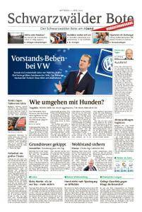 Schwarzwälder Bote Blumberg - 11. April 2018