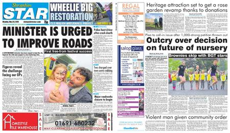 Shropshire Star Shrewsbury Edition – May 20, 2019