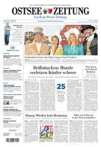 Ostsee Zeitung Wolgast - 28. August 2017