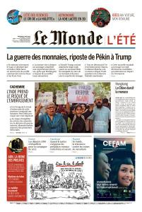 Le Monde du Mercredi 7 Août 2019