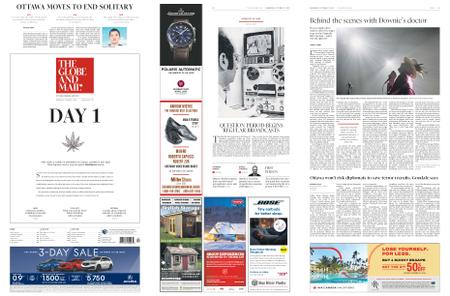 The Globe and Mail – October 17, 2018