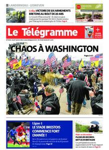 Le Télégramme Landerneau - Lesneven – 07 janvier 2021