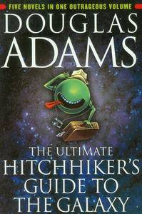 Douglas Adams - The Hitchhikers Guide to the Galaxy - 5 ebooks [Repost]