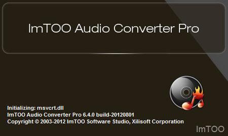 ImTOO Audio Converter Pro 6.5.0.20170119