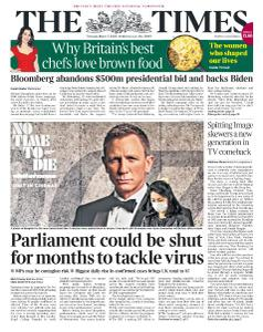 The Times - 5 March 2020