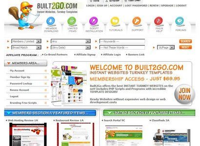 Built2go.com all site ripped with all scripts