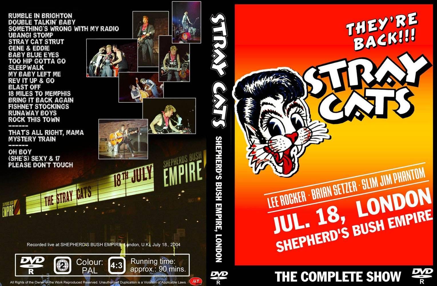 Stray Cats - Live from Sephard 2004 Full dvd