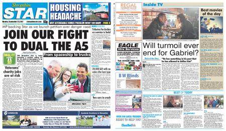 Shropshire Star Shrewsbury Edition – September 25, 2017