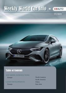 Weekly World Car Info – 11 September 2021