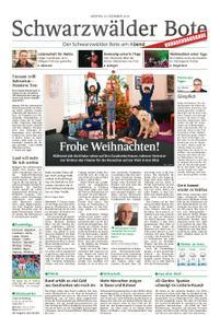Schwarzwälder Bote Hechingen - 24. Dezember 2018