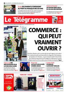 Le Télégramme Ouest Cornouaille – 03 novembre 2020