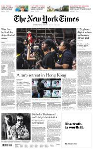 International New York Times - 17 June 2019