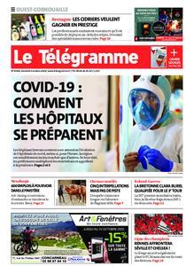 Le Télégramme Ouest Cornouaille – 02 octobre 2020