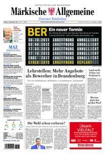 Märkische Allgemeine Zossener Rundschau - 01. September 2017