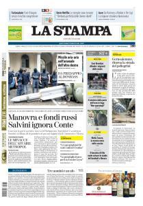 La Stampa - 16 Luglio 2019