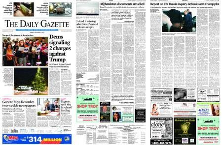 The Daily Gazette – December 10, 2019