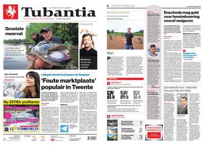 Tubantia - Enschede – 10 augustus 2019