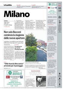 la Repubblica Milano - 5 Agosto 2018
