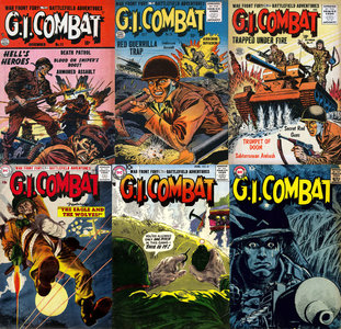 G.I. Combat #001 to #288 (1952-1987)
