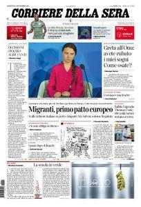 Corriere della Sera – 24 settembre 2019