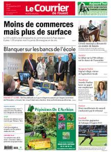 Le Courrier de l'Ouest Nord Anjou – 24 septembre 2019