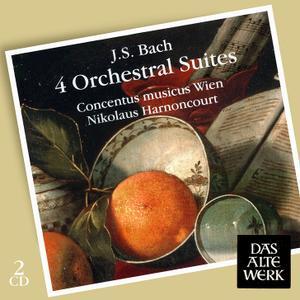 Nikolaus Harnoncourt, Concentus musicus Wien - Bach: 4 Orchestral Suites (2008)