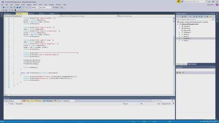 Udemy - Learn How to Code Using C#: The Basics of Programming (2017)