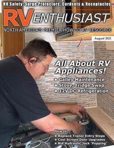 RV Enthusiast Magazine – August 2021