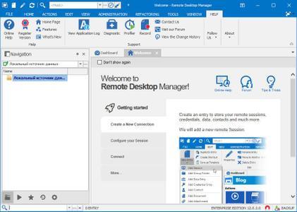 Remote Desktop Manager Enterprise 2019.1.29.0 Beta Multilingual