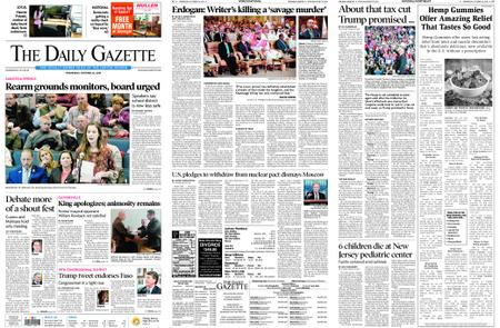 The Daily Gazette – October 24, 2018