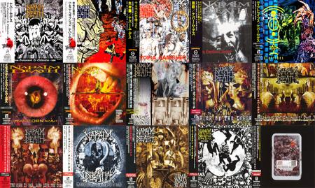 Napalm Death: CD Collection (1988 - 2015) [15CD, Japanese Ed.]
